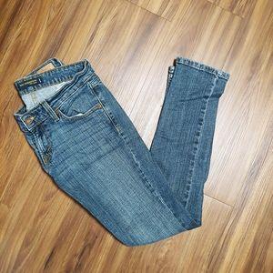 Skinny low levi jeans